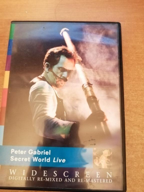 PETER GABRIEL – SECRET WORLD LIVE