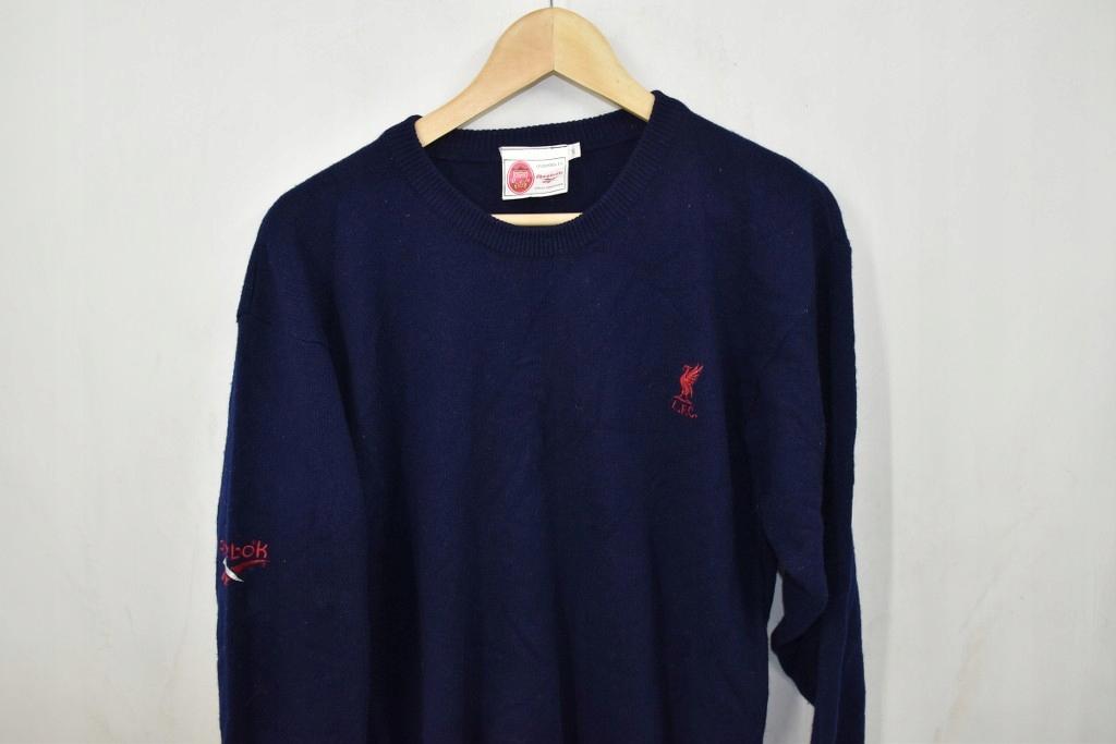 Reebok Liverpool FC sweter klubowy vintage S wool