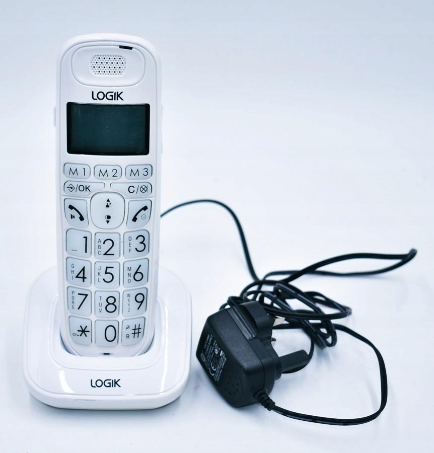 4309-19 LOGIK L20DBIG10 k#o TELEFON BEZPRZEWODOWY