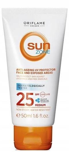 Sun Zone balsam twarz i ciało 25 SPF 50ml ORIFLAME