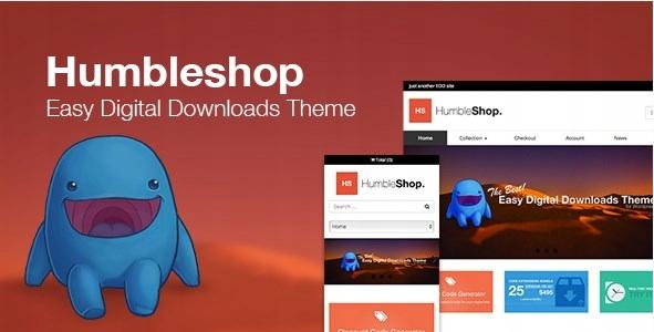 Szablon Themeforest Humbleshop Minimal EasyDigital