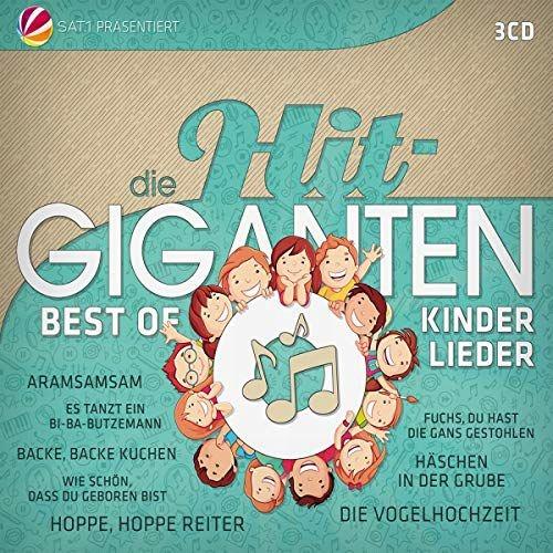 DIE HIT GIGANTEN BEST OF KINDERLIEDER [3CD]