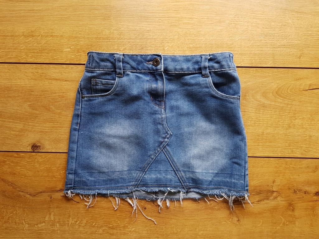 TU jeansowa spódnica spódniczka 9 lat / 134 cm