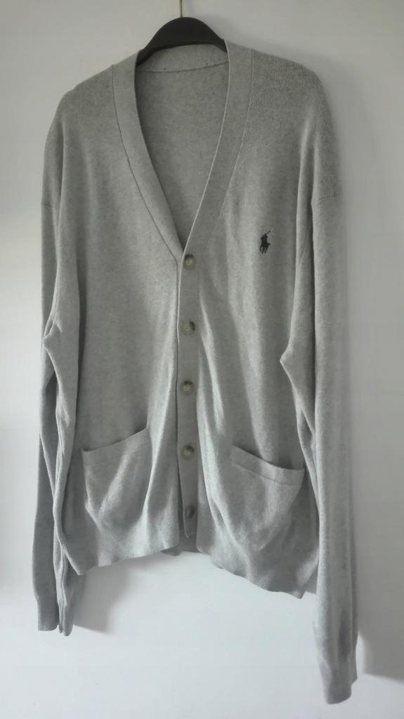 Męski sweter na guziki Ralph Lauren L .