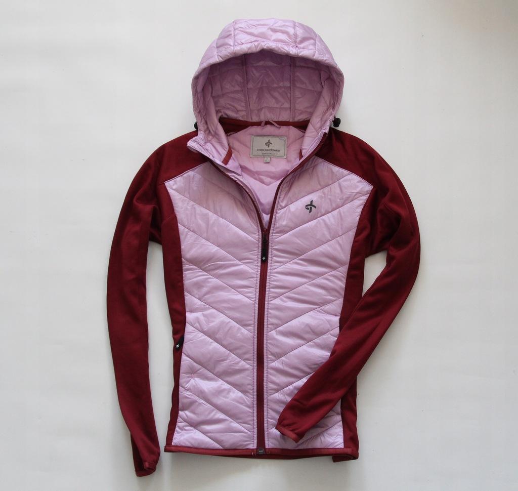 CROSS SPORTSWEAR -kurtka wiosenna bluza jak nowa S