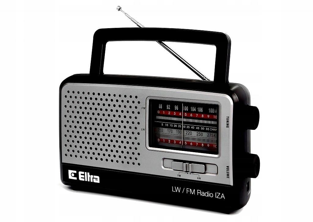 Eltra Radio IZA 2 SZARY