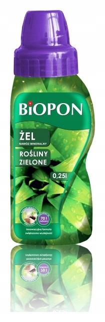 Nawóz mineralny do roślin zielonych 250 ml Biopon