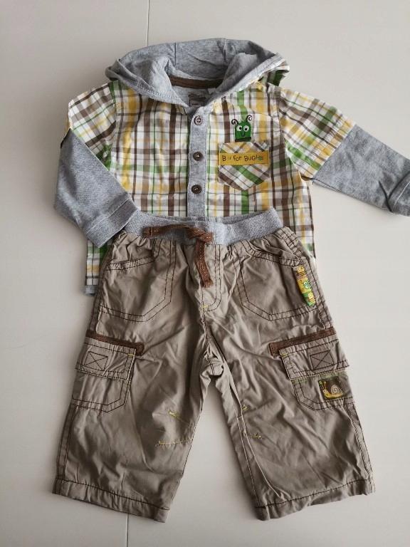TU KOMPLET bluza spodnie 62-68 cm