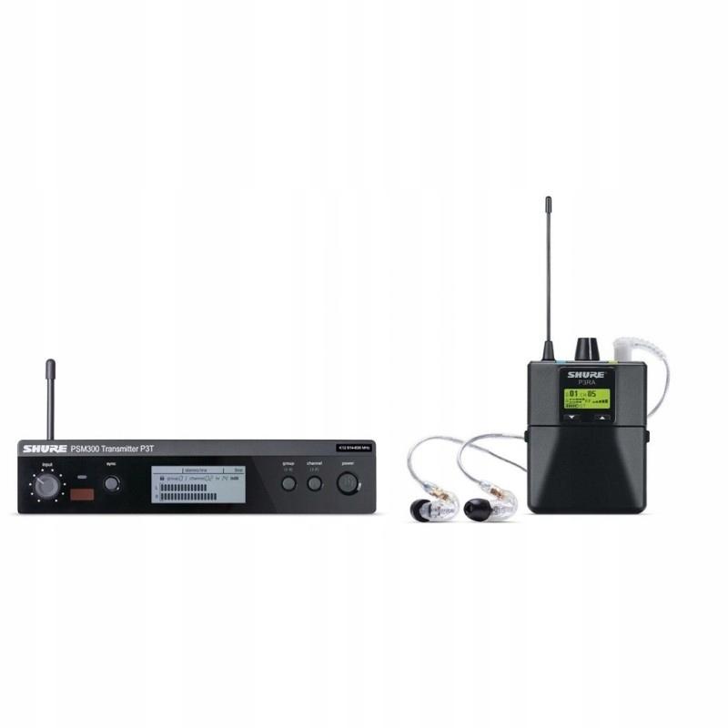 SHURE PSM 300 bezprzewodowy odsłuch do uszny