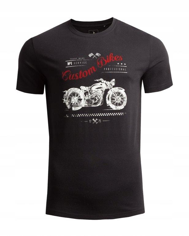 Outhorn T-shirt męski L19 TSM611-czarny M
