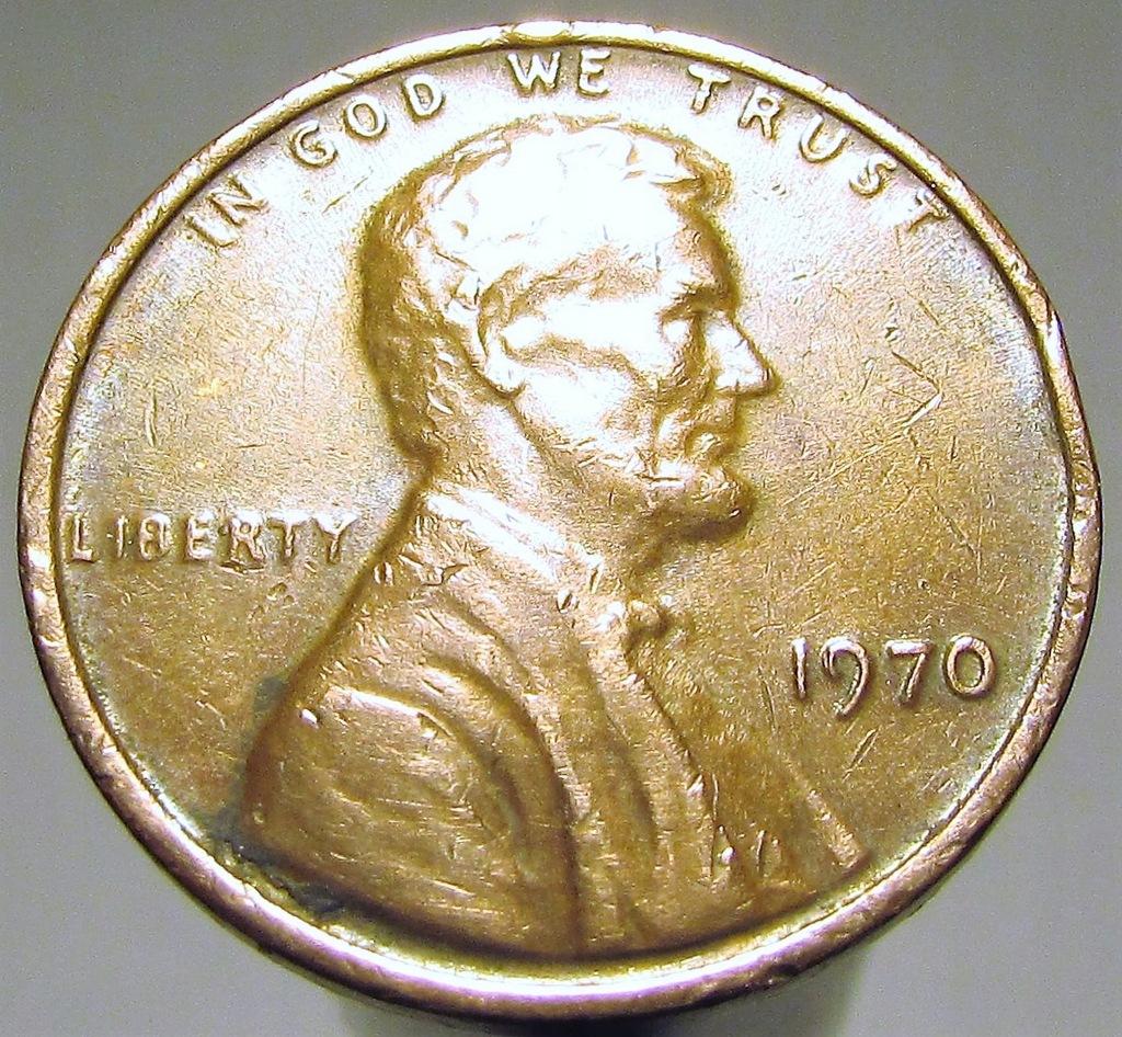 1 CENT 1970 D USA