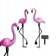 3. Lampa solarna 3 flamingi EASYMAXX
