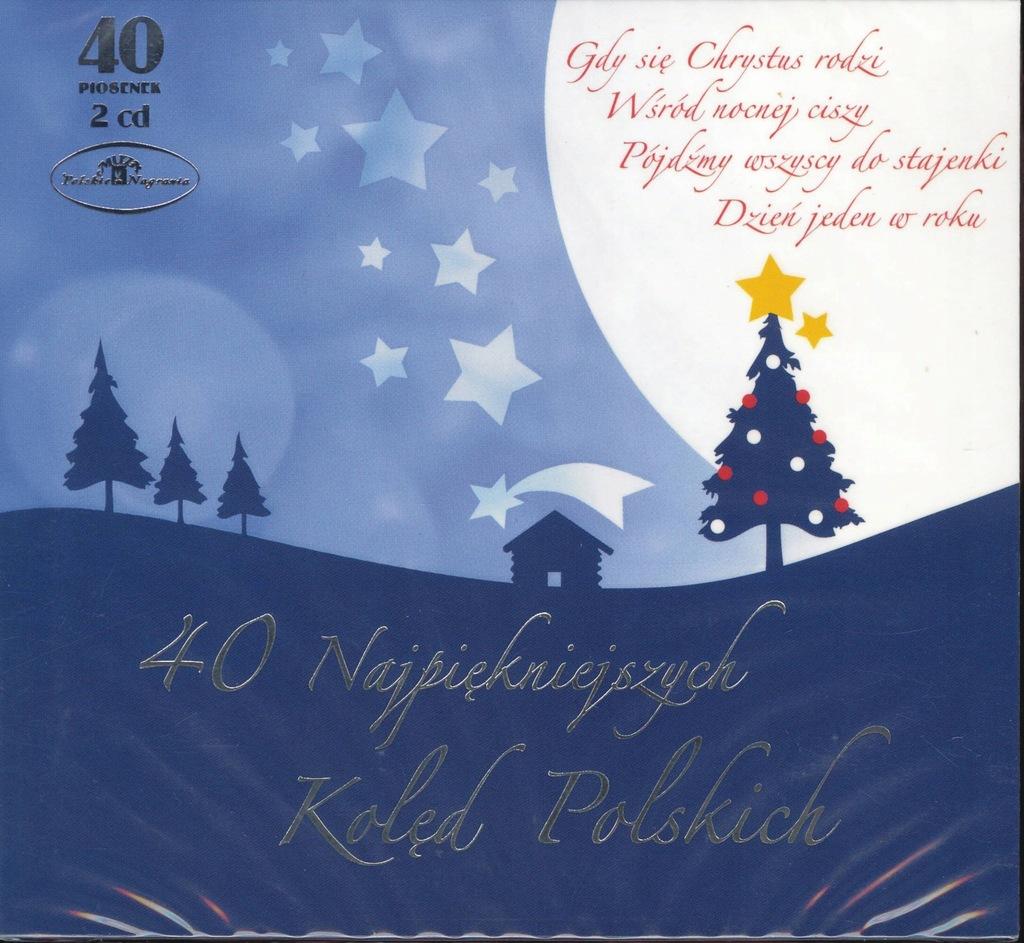 40 najpiękniejszych kolęd polskich [Digipack] [2CD