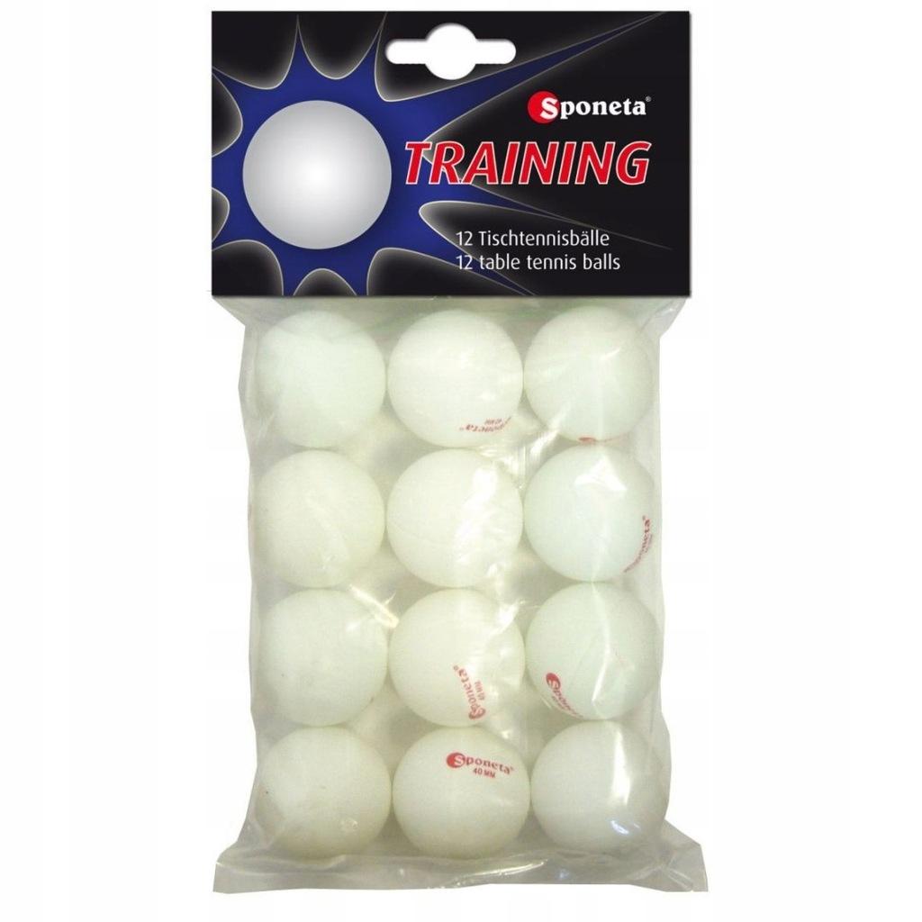 Piłeczki Do Tenisa Stołowego Sponeta Training 12Sz