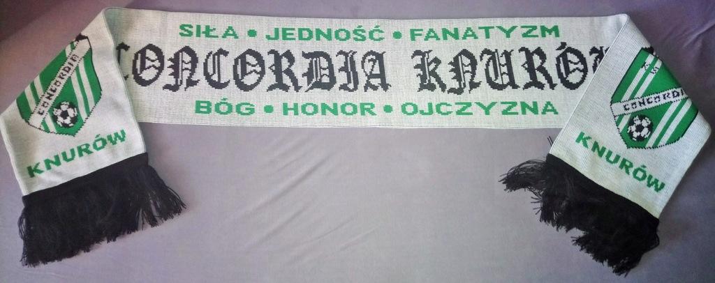 Szalik CONCORDIA KNURÓW Super Okazja!!