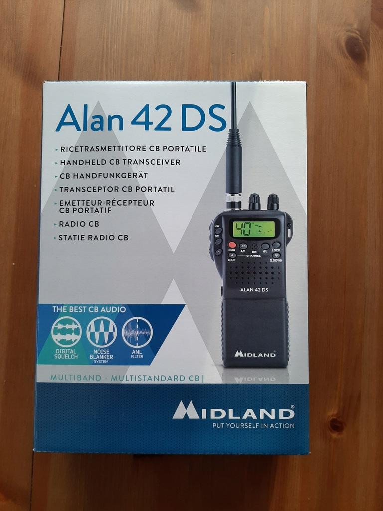 Radiotelefon Midland Alan 42 DS
