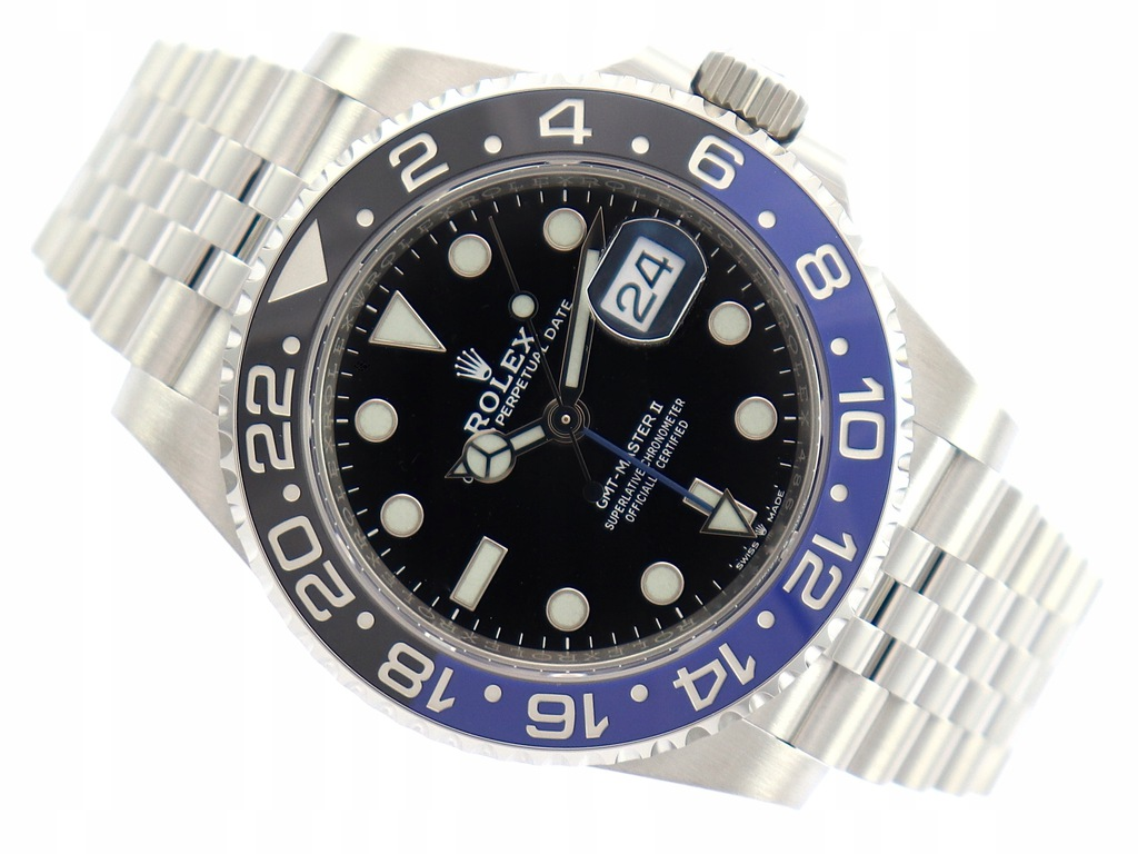 ROLEX OYSTER PERPETUAL GMT MASTER II 126710BLNR