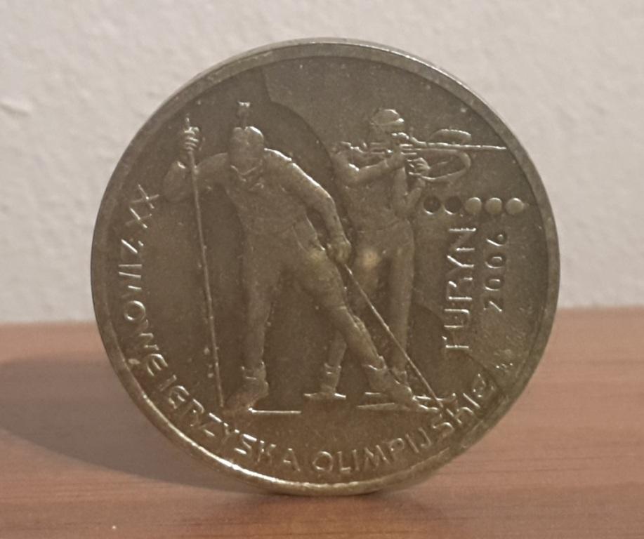 Turyn Zimowe Igrzyska 2006 r 2 zł
