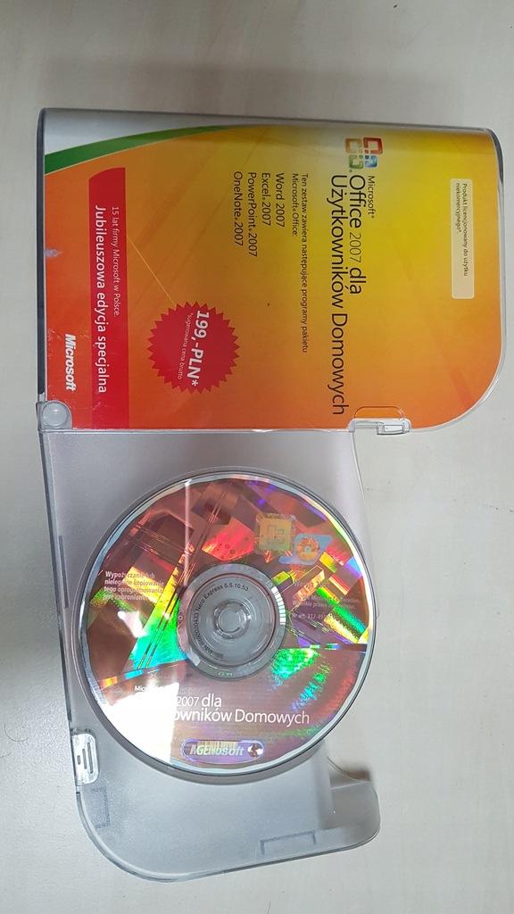 office 2007 BOX dla użytkowików domowych 3 kompute