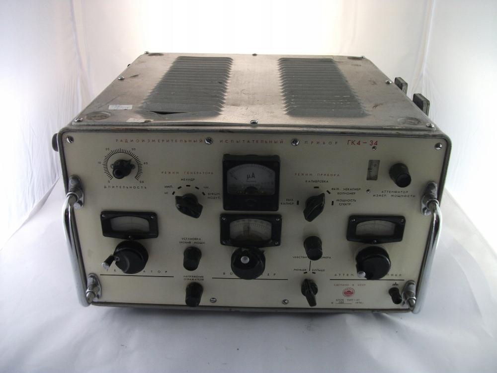 Generator pomiarowy GK4 - 34 sygnałów wojskowy GK4