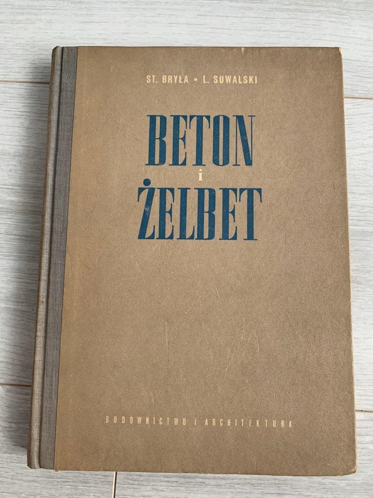BRYŁA SUWALKI BETON I ŻELBET 1954