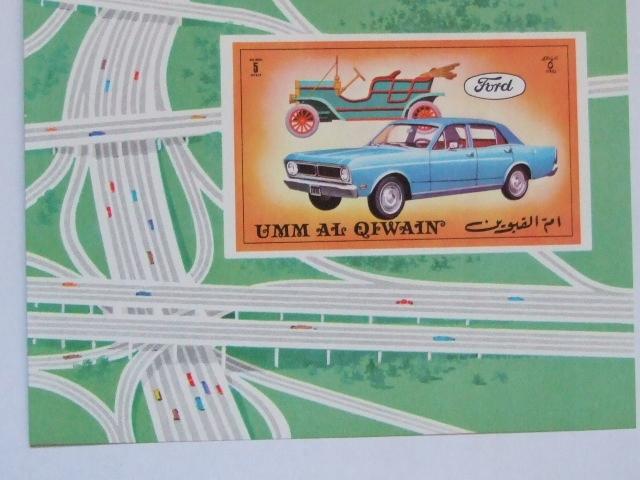 Emiraty Arabskie - bloczek - samochód