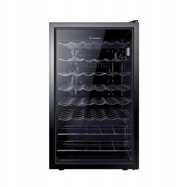 Chłodziarka do wina Candy A+ czarny CCV 150 SKEU