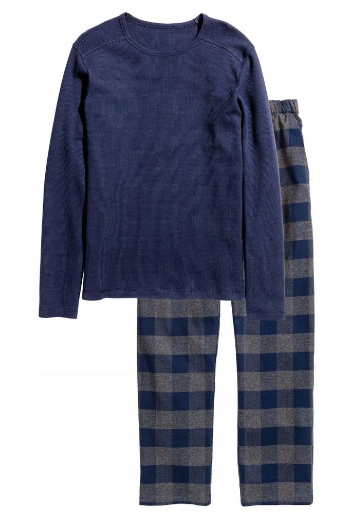H&M Piżama z bluzą i spodniami rozm. L