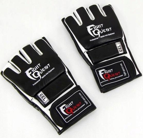 Rękawice Chwytne Treningowe MMA Na Worek B51 M