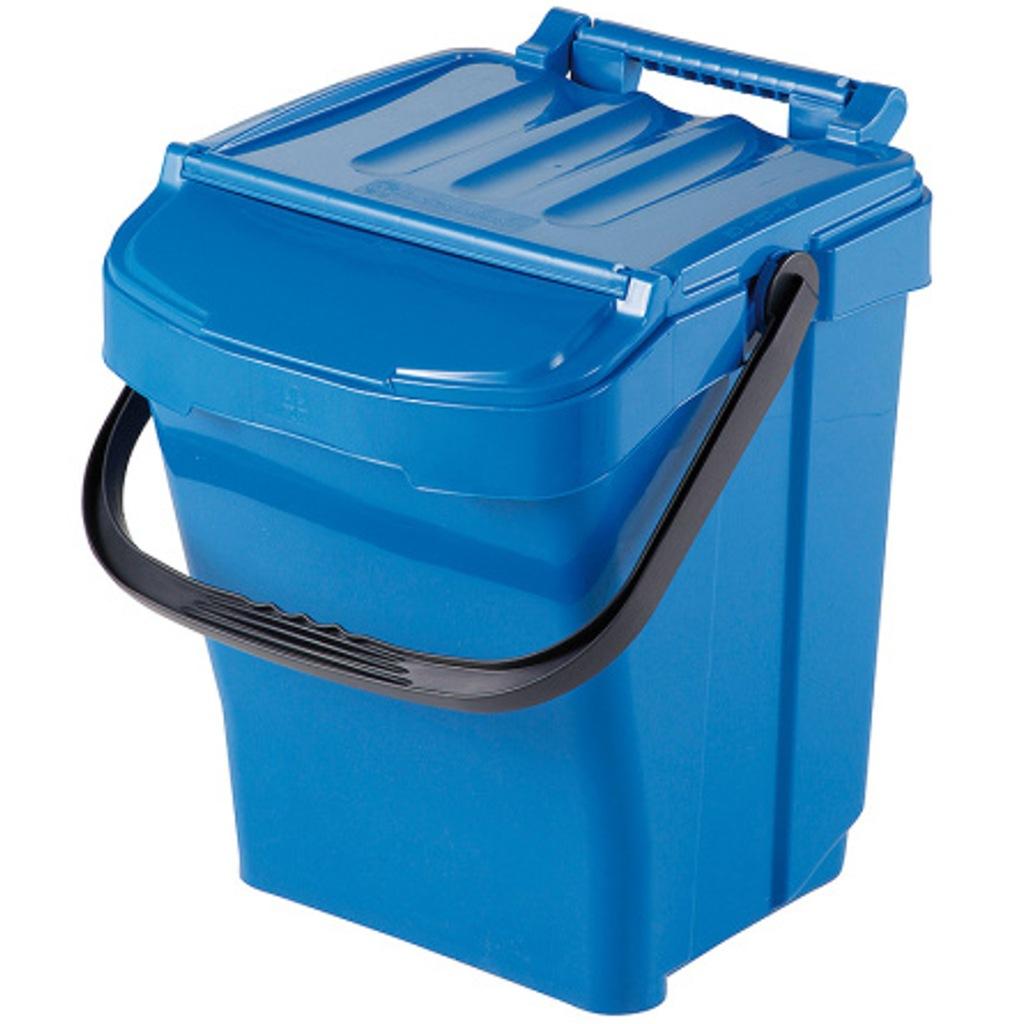 Pojemnik kubeł kosz do sortowania na śmieci 40L