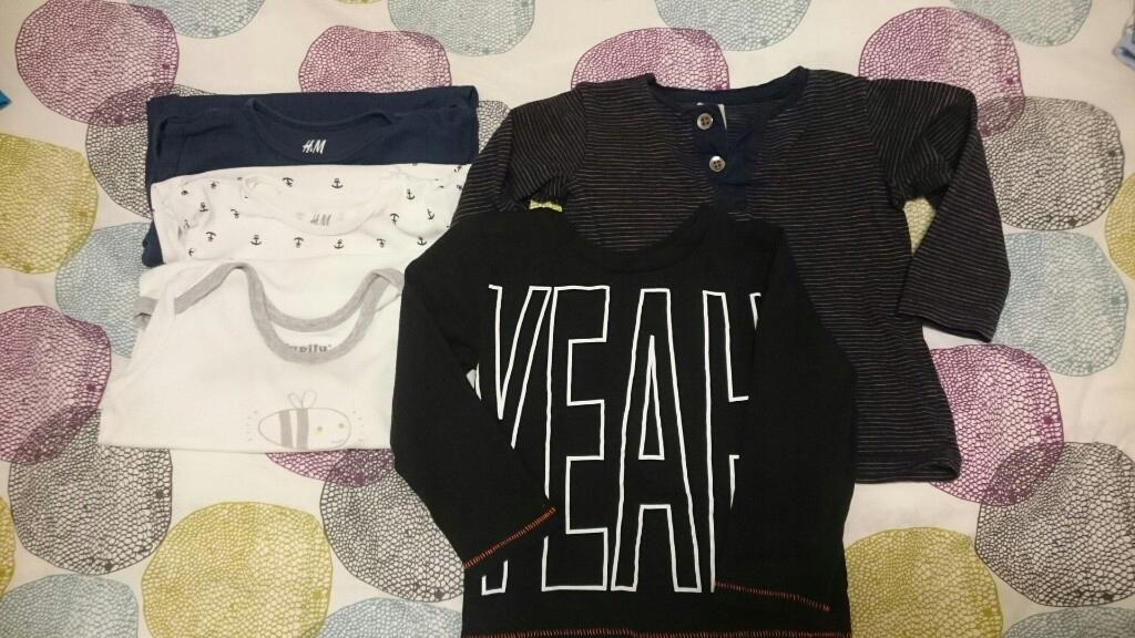 H&M body i bluzki 92