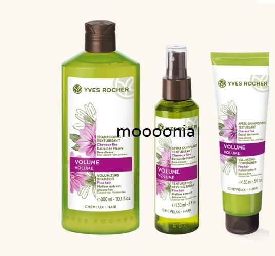 Szampon YVES ROCHER odżywka spray objętośd włosów