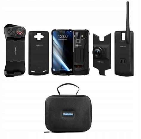 Telefon DOOGEE S90 4G IP69K 6/128GB FULL SET POMAR