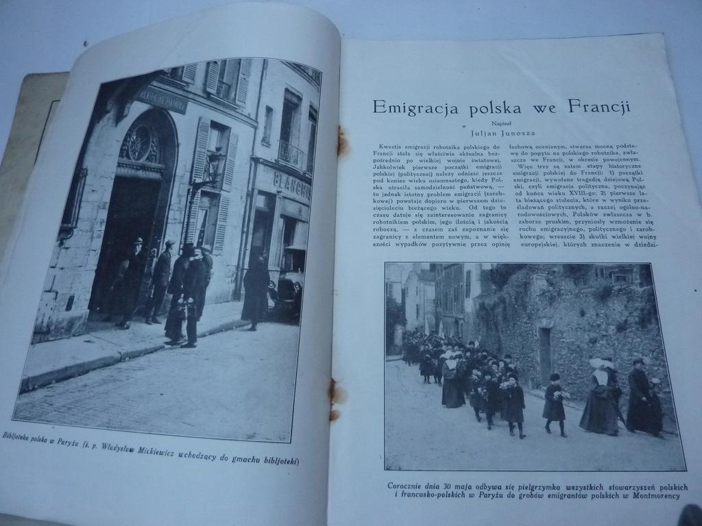 NAOKOŁO ŚWIATA N 40 EMIGRACJA POLSKA WE FRANCJI