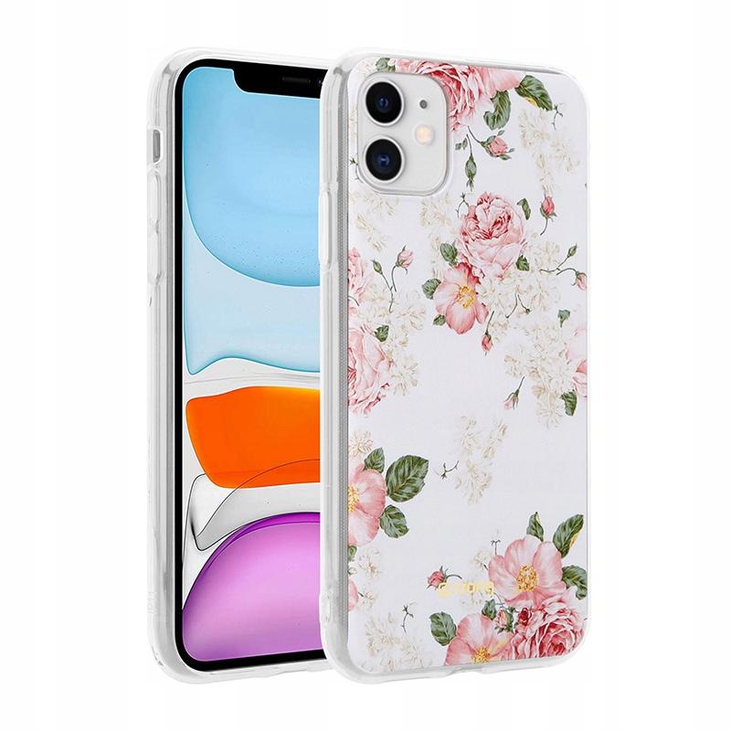 Crong Flower Case - Etui iPhone 11 (wzór 02)