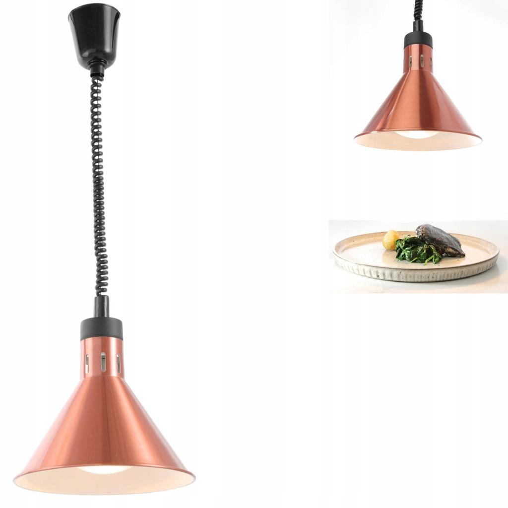 Lampa do podgrzewania potraw - wisząca stożkowa mi