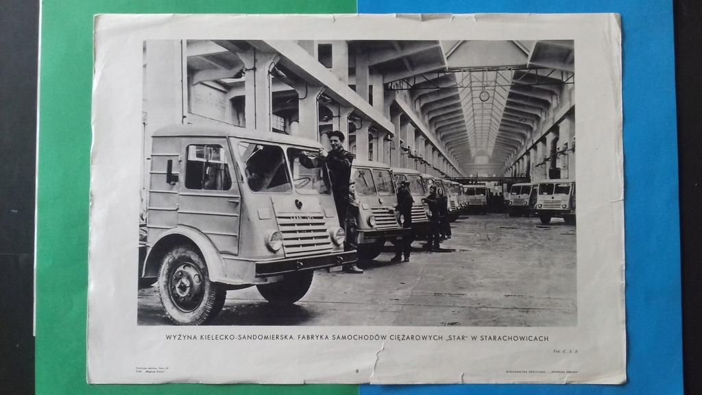 FSC STAR STARACHOWICE Fotos reklamowy '50/60-te