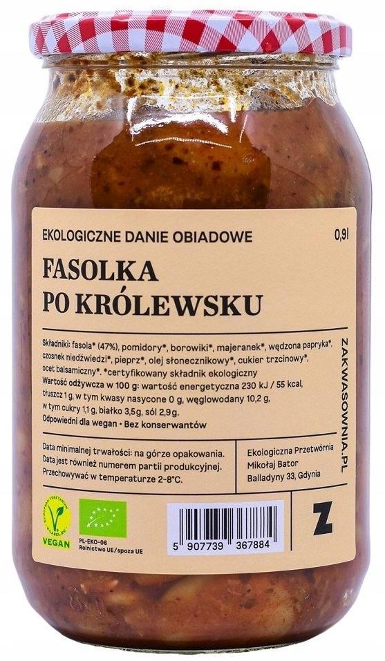 FASOLKA PO KRÓLEWSKU BIO 900 ml - ZAKWASOWNIA ZAKW