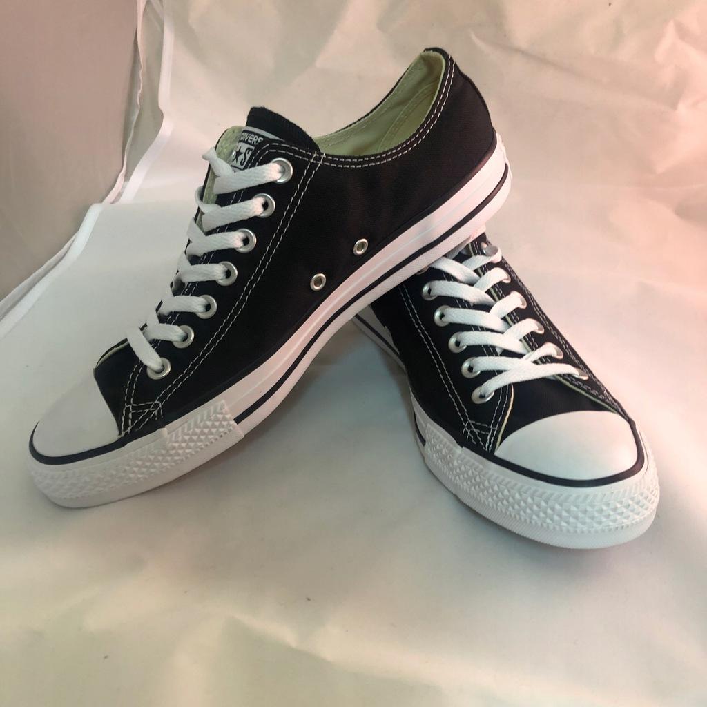 Converse All Star Ox M5039C 44,5 Czarne Ceny i opinie