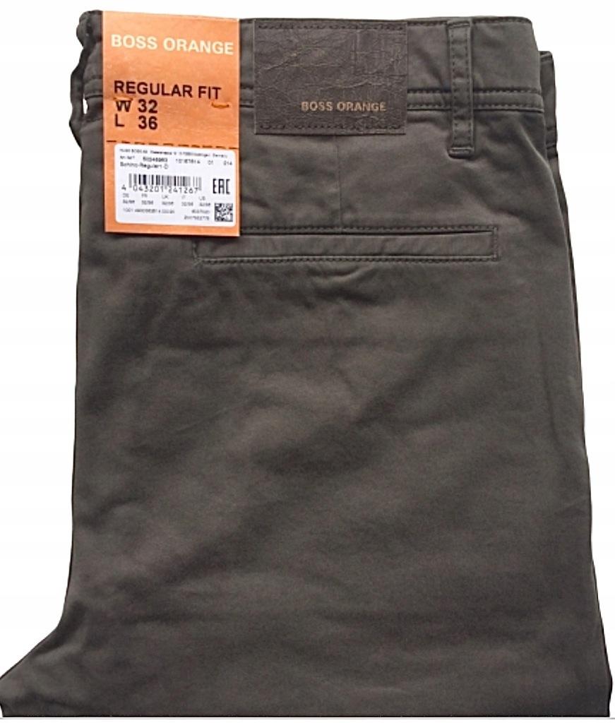 HUGO BOSS ORANGE spodnie 32/36