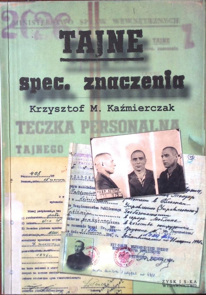 Kaźmierczak - Tajne spec. znaczenia