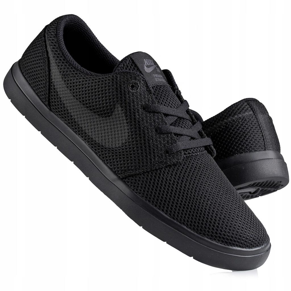 buty czarne nike sb portmore r 42 męskie