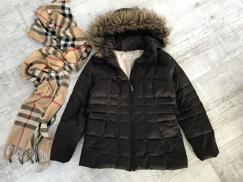 CALVIN KLEIN__zimowa kurtka pikowana __40 L 38 M