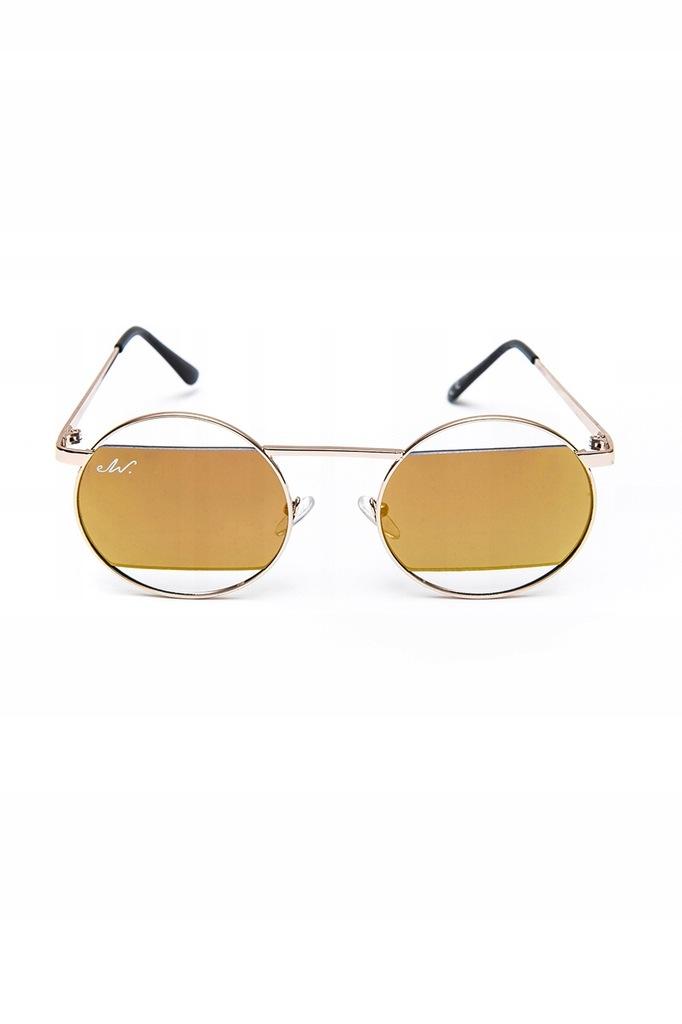 Okulary przeciwsłoneczne el wariato fit lovers żółte Vinted