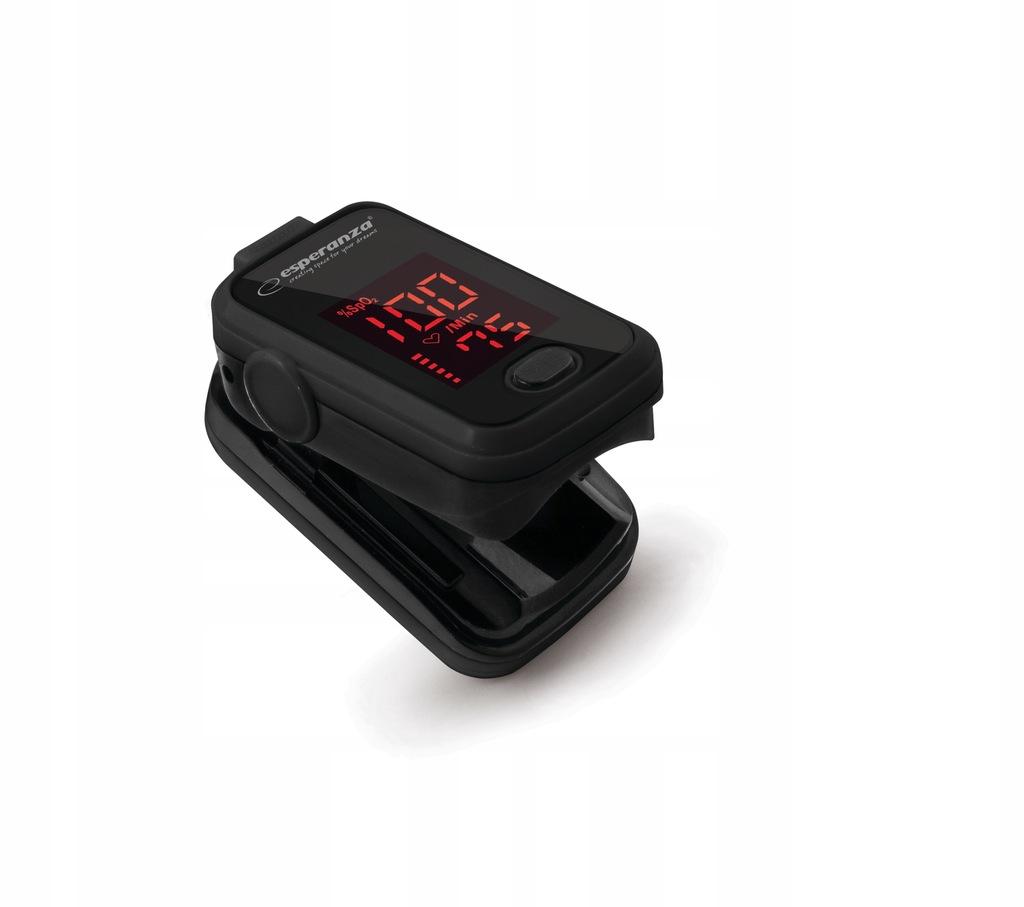 Pulsoksymetr palcowy medyczny na palec ESPERANZA