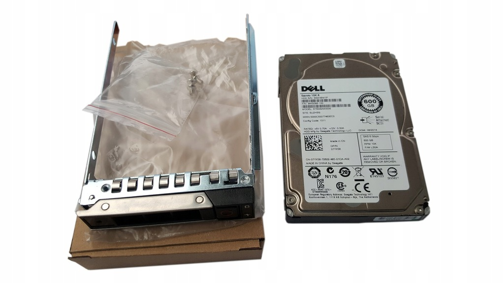 NOWY DELL 600GB SAS 10k 2,5 DELL R740 R740XD R940