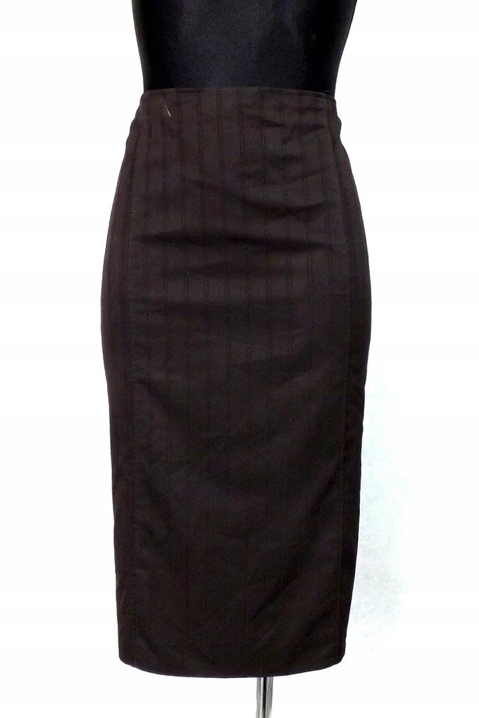 Archiwalne: Spódnica ołówkowa tuba skóra naturalna M 38