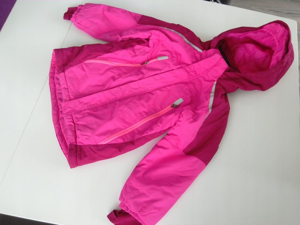 H&M świetna kurtka narciarska r.122