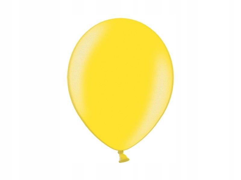 Balony 14'', Metallic Citrus Yellow (1op=100szt)