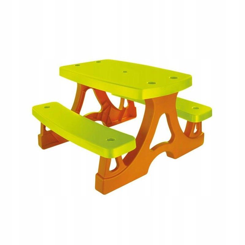 Stolik Dla Dziecka z Ławkami Piknikowy Ogrodowy Mo
